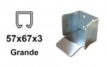 Spodná dojazdová kapsa závesný profil 57×67×3,0