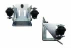 Spodný doraz / kapsa s rolkami pre C profil 80x80x5
