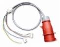 Prívodný kábel CEE 3x 400V, dĺžka 1m