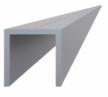 Hliníkový U profil - 20,5x22x6000 mm