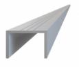 Hliníkový U profil - 29x22x6000 mm