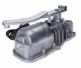 KEY Under UND24 - podzemný pohon pre krídlovú bránu do 3,5m/600kg