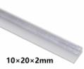 Hliníkový L-profil 10x20x2mm