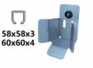 Dojazdová kapsa - úzka, pre profil 60×60