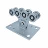 Vozík pre posuvnú bránu s 8 rolkami pre C-profil 70x60x3,5