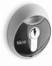 NICE MoonKey MOSIU - kľúčový spínač s európskou vložkou, zapustená montáž
