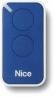 NICE Era Inti INTI2B – dvojkanálový diaľkový ovládač pre pohony NICE modrý