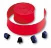NICE WA2 - červená ochranná koncová guma 8m s koncovými záslepkami