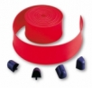 NICE WA6 - červená ochranná koncová guma 12m s koncovými záslepkami