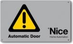 NICE TS - výstražná tabuľka