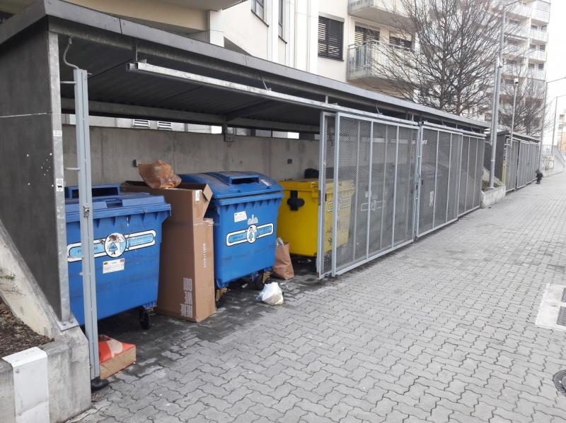 Zabezpečenie kontajnerových stání
